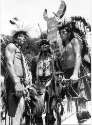 Indios cherokee en Carolina del Norte